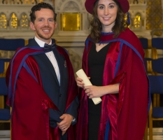 Nutrition Research Centre Ireland celebrates Dr Moran's PhD Graduation